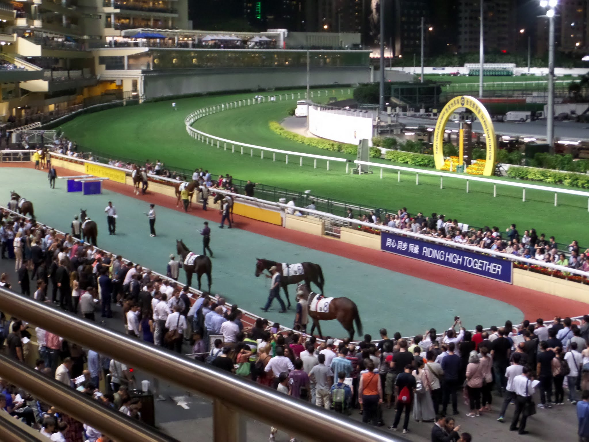 Enclosure and Winning Post, Happy Valley Racecourse