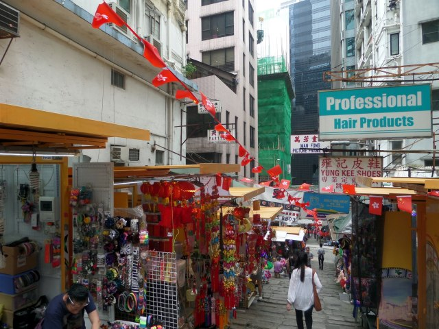 Pottinger Street Market, Hong Kong