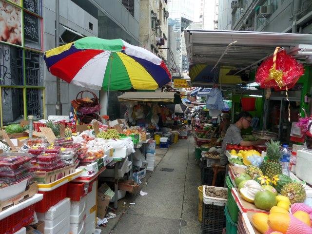 Graham Street Market, Hong Kong