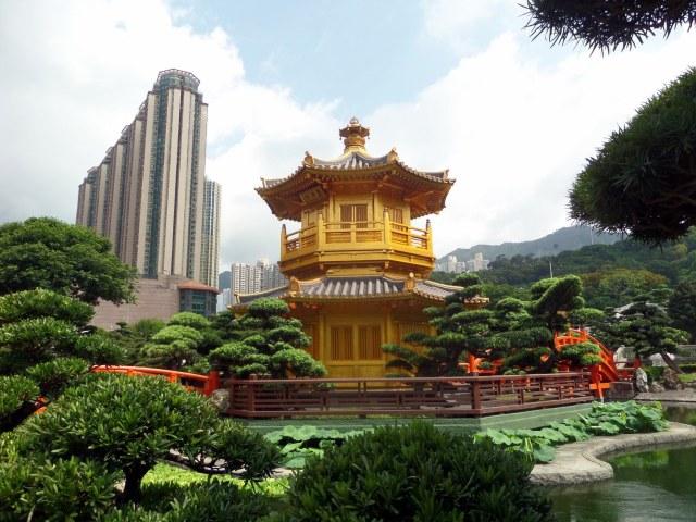Golden Pavilion, Nan Lian Gardens, Hong Kong