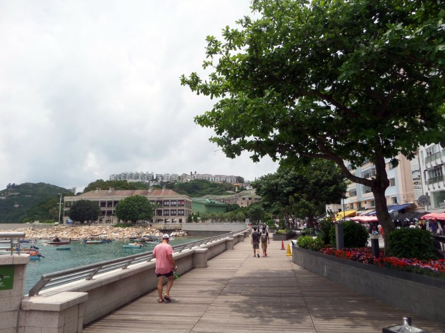 The promenade, Stanley, Hong Kong