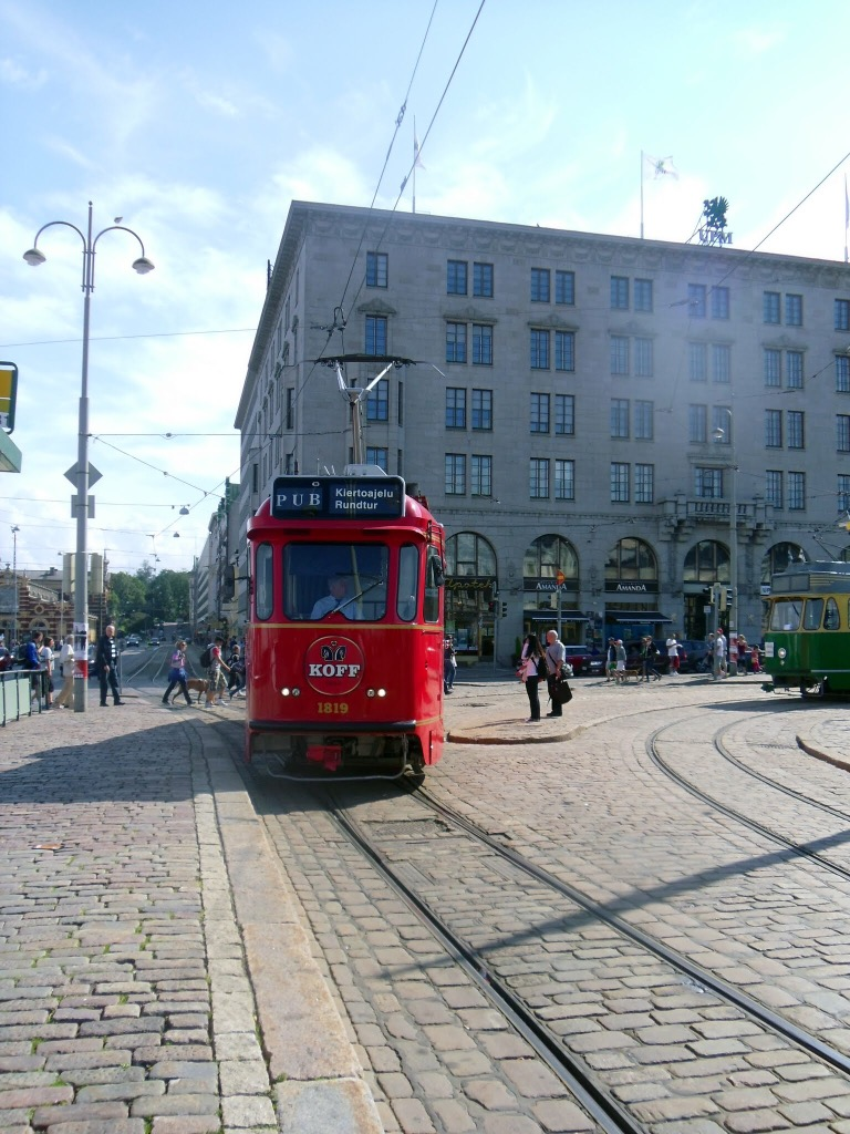 Helsinki Pub Tram