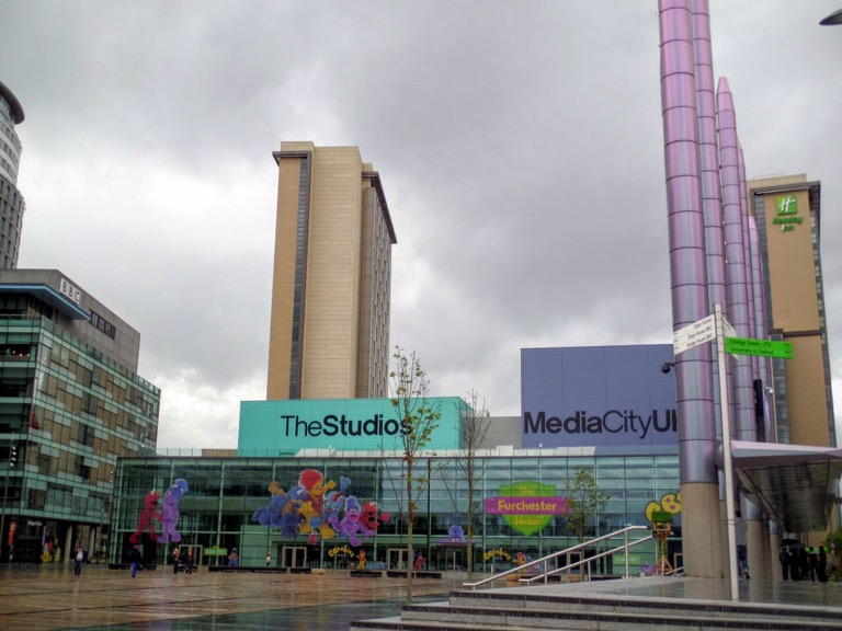 TheStudios and MediaCityUK, Salford Quays
