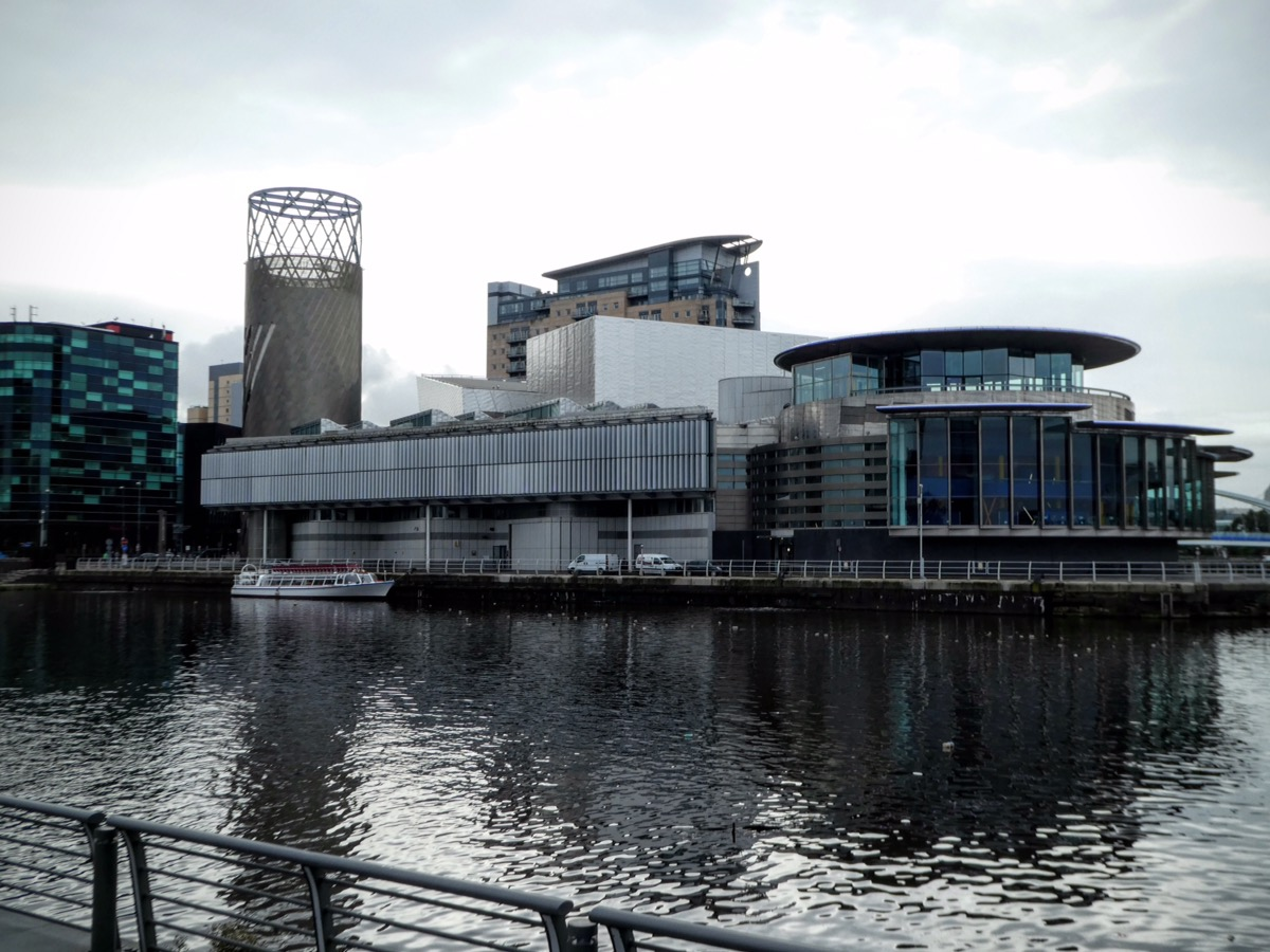 The Lowry building, Salford Quays