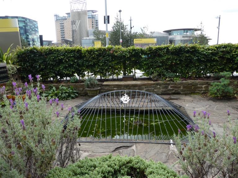 Blue Peter Garden, MediaCityUK, Salford Quays