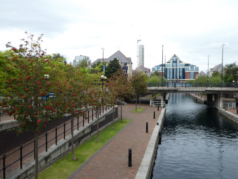 Canal, Salford Quays
