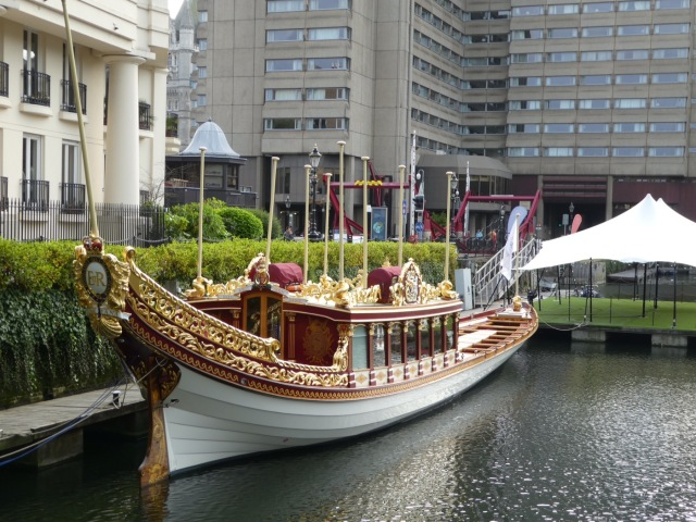 The Royal Barge, Gloriana