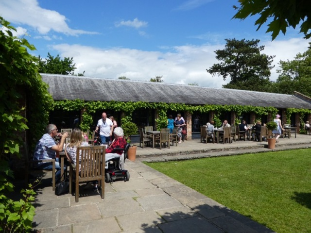 Tea rooms, Beningbrough Hall