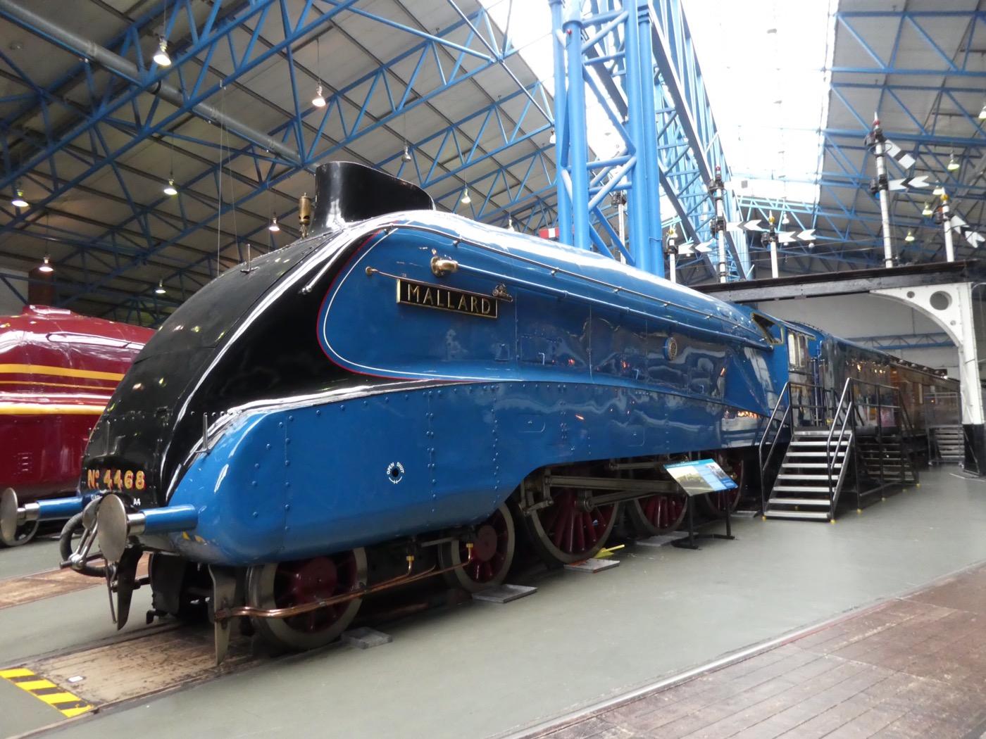 Mallard Steam Locomotive, National Rail Museum York