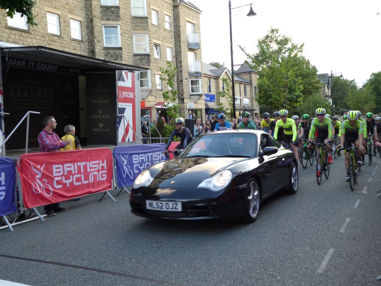 Ilkley Street Circuit Cycling