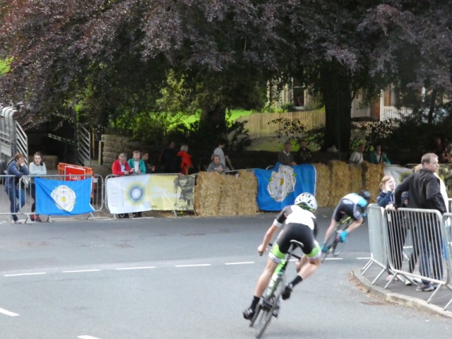 Ilkley Street Cycling Race