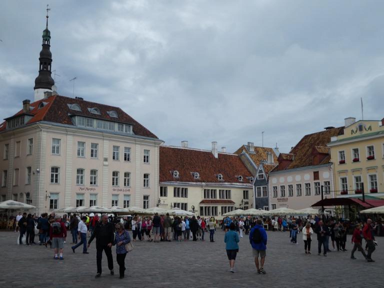 Tallinn's main square