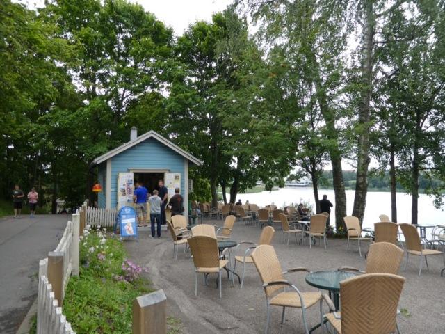 Sinisen Huvilan Kahvila. Helsinki