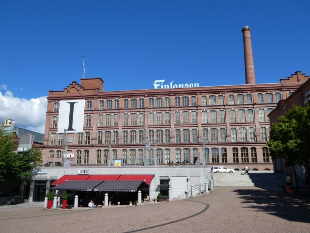 The Finlayson Mill, Tampere