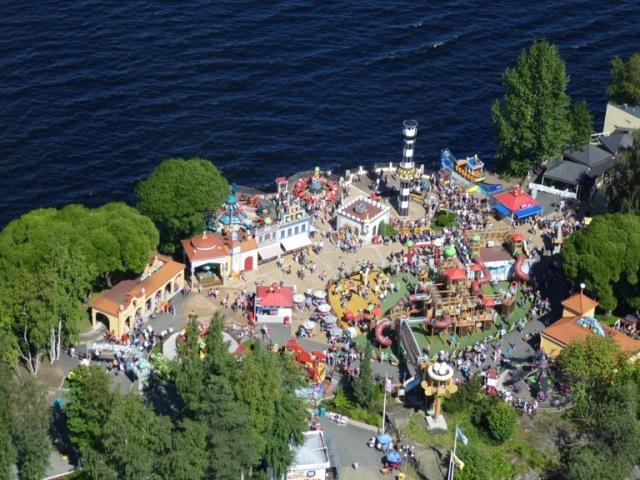 Särkänniemi Amusement Park.Tampere