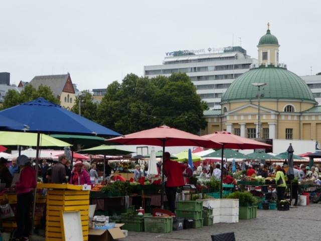 Turku market square