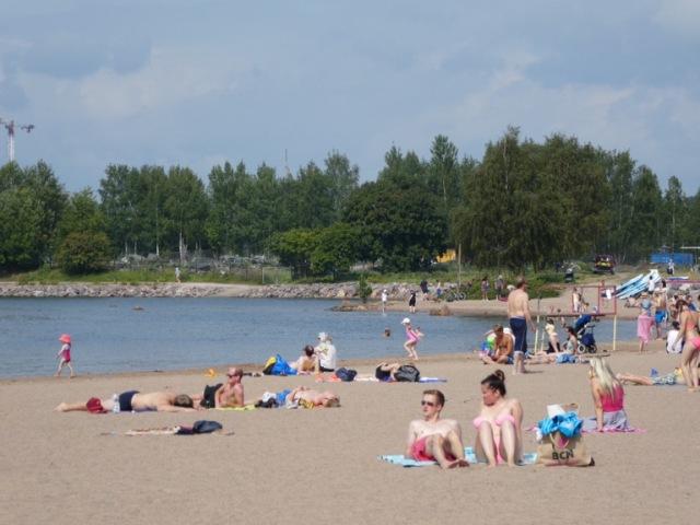 Hietaniemi Beach, Helsinki