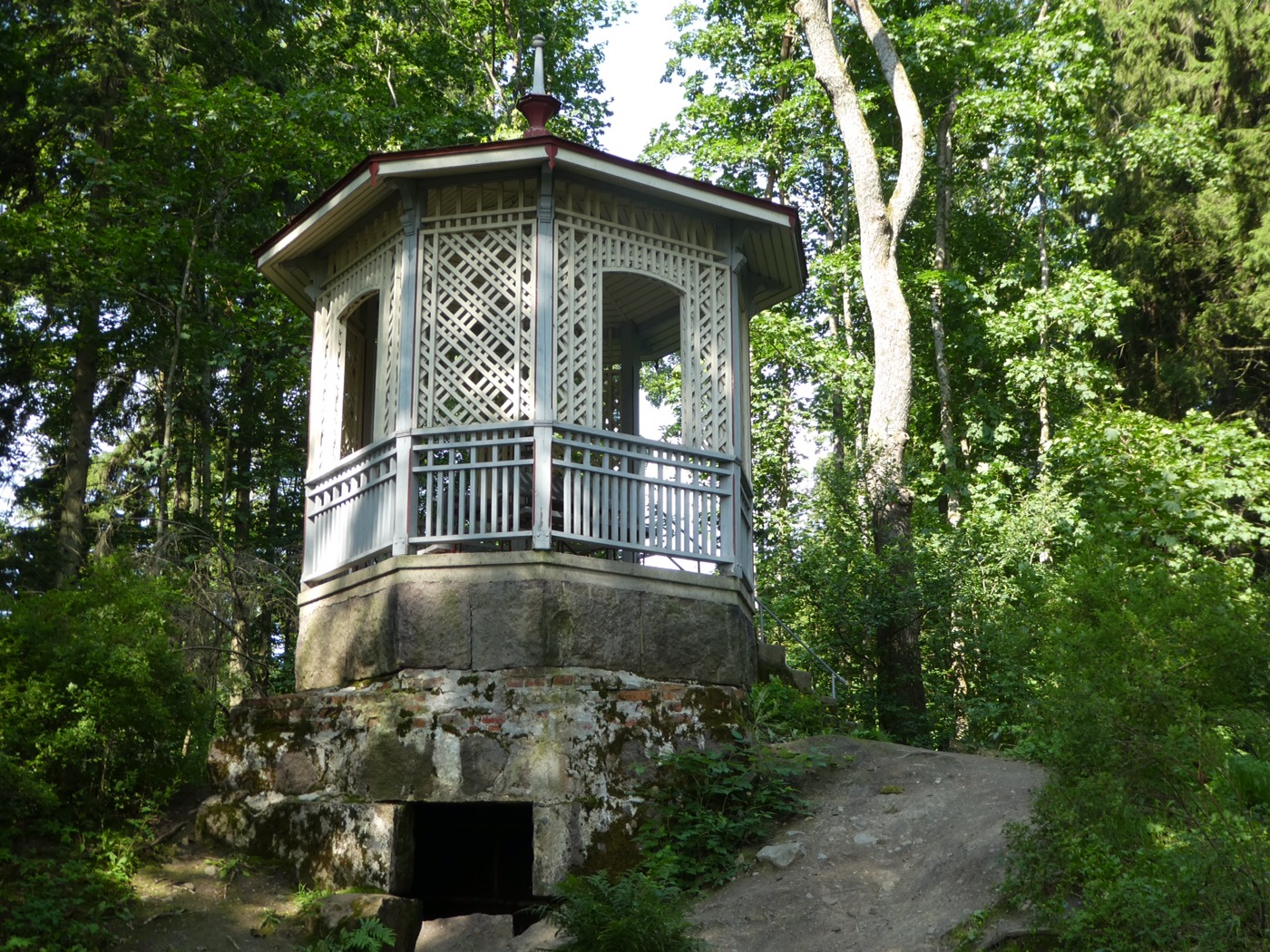 Old summerhouse near Villa Elfvik, Espoo, Finland
