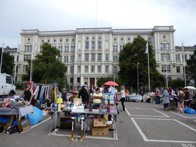 Flea Market, Hietalahti Market Square, Helsinki