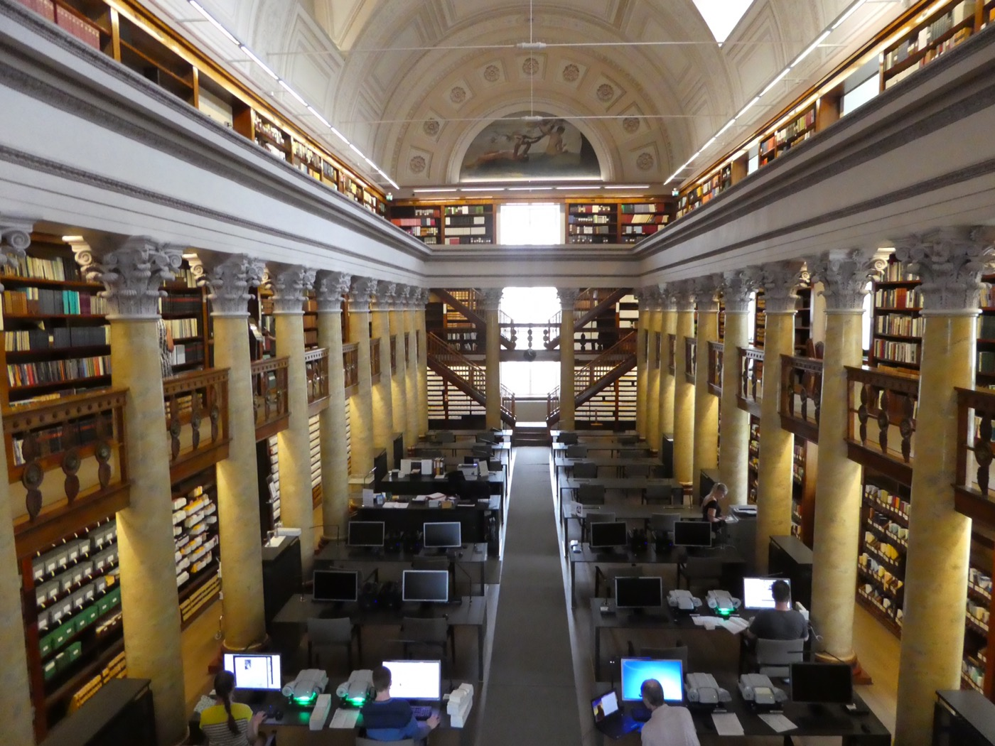 Reading Room at the National Library of Finland