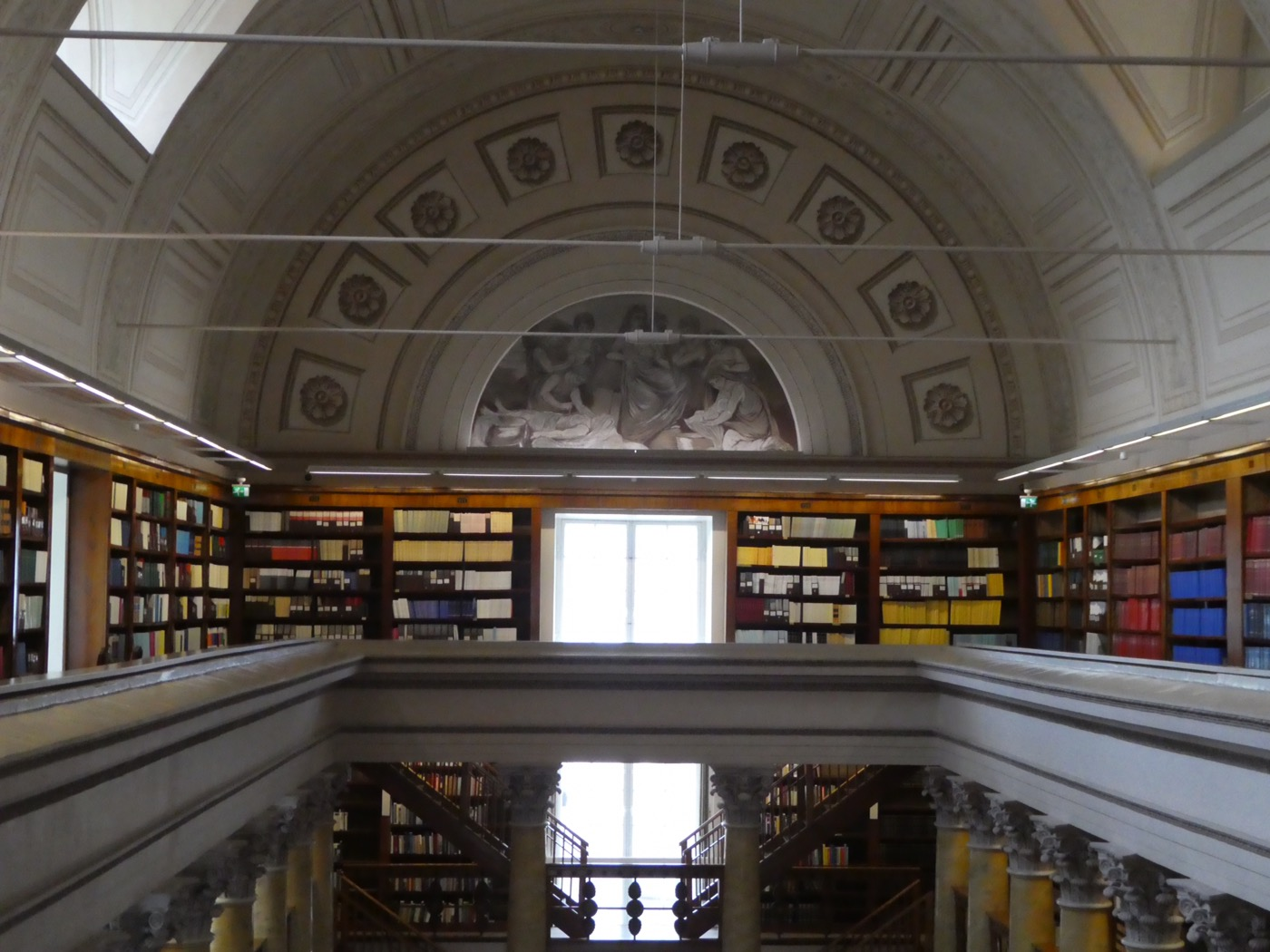 National Library of Finland's Reading Room