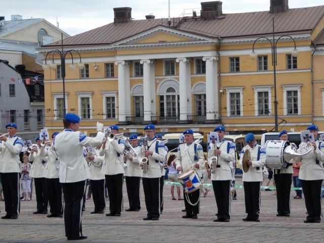Finnish Defence Force, Senate Square, Helsinki