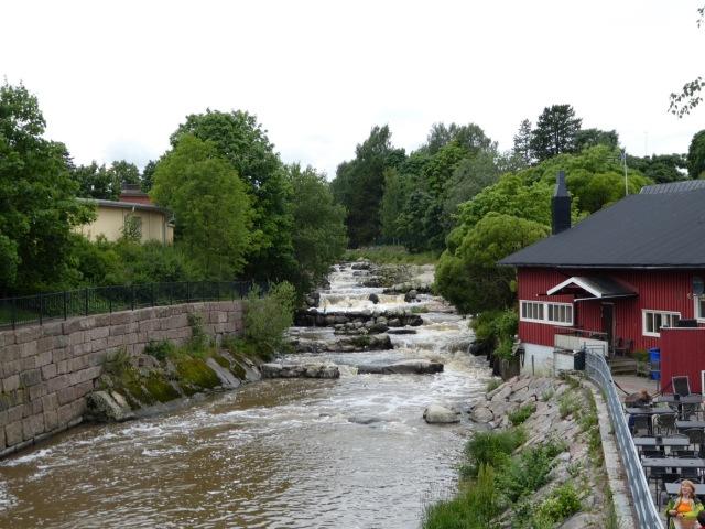 Vantaa River Old Town Rapids, Helsinki