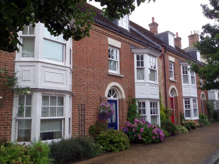 Town houses in Poundbury