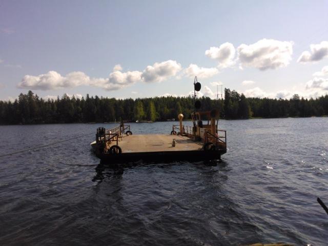 Kongosaari island ferry, Finland