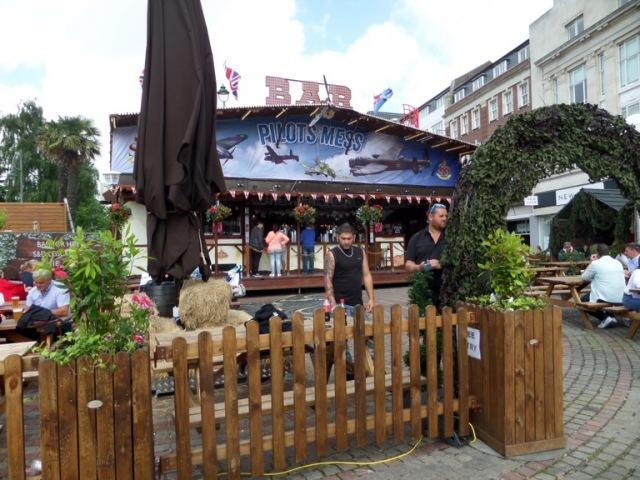 Pilot's bar, Bournemouth Air Festival