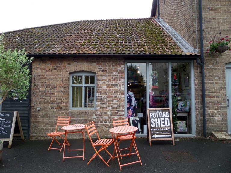 The Potting Shed Cafe, Poundbury