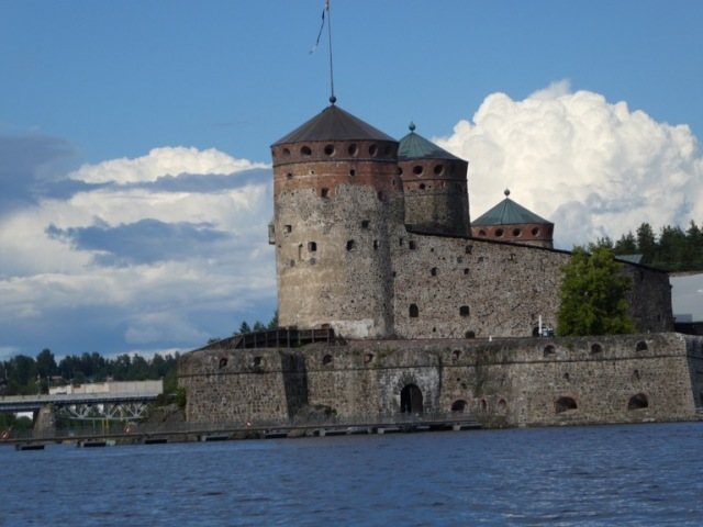 Olavinlinna Castle Savonlinna, Finland