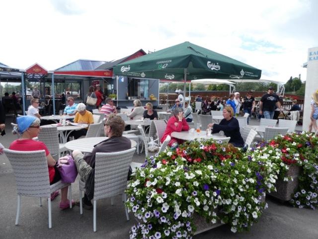 Market cafe, Savonlinna, Finland