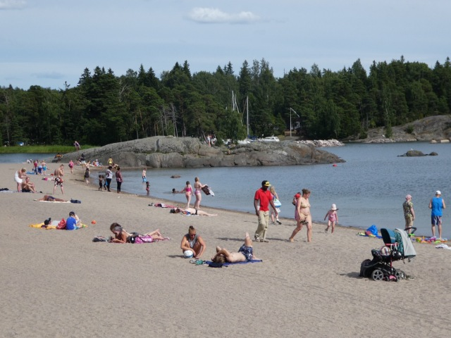 Vuosaari Beach, Helsinki