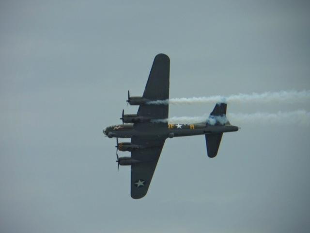 B17 - Sally B Flying Fortress