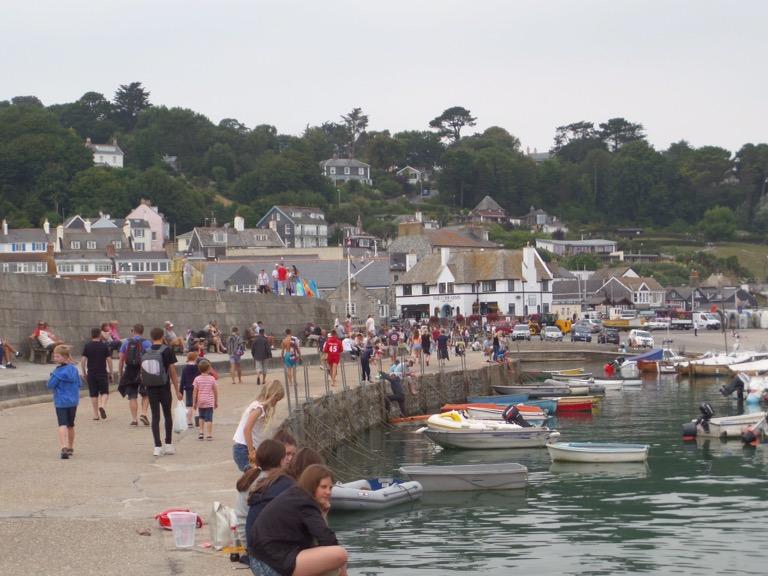 Lyme Regis seafront