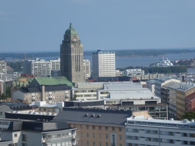 Linnanmäki Theme Park, views from Panorama ride