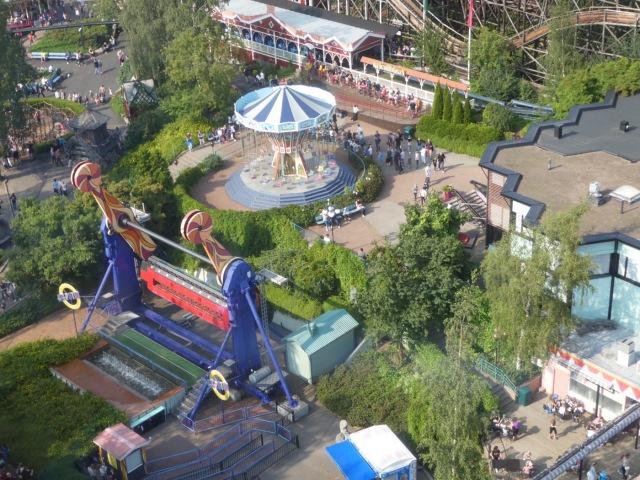 Linnanmäki from the Panorama ride
