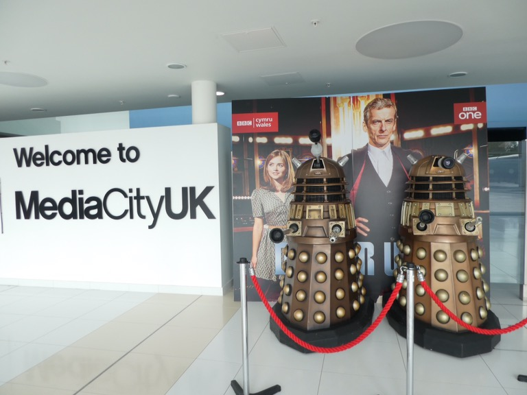 A Dalek at MediaCity UK, Salford Quays