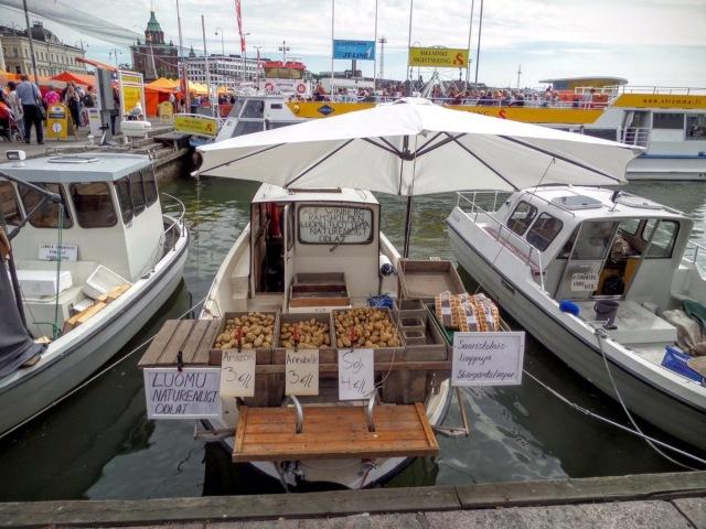 Helsinki market place