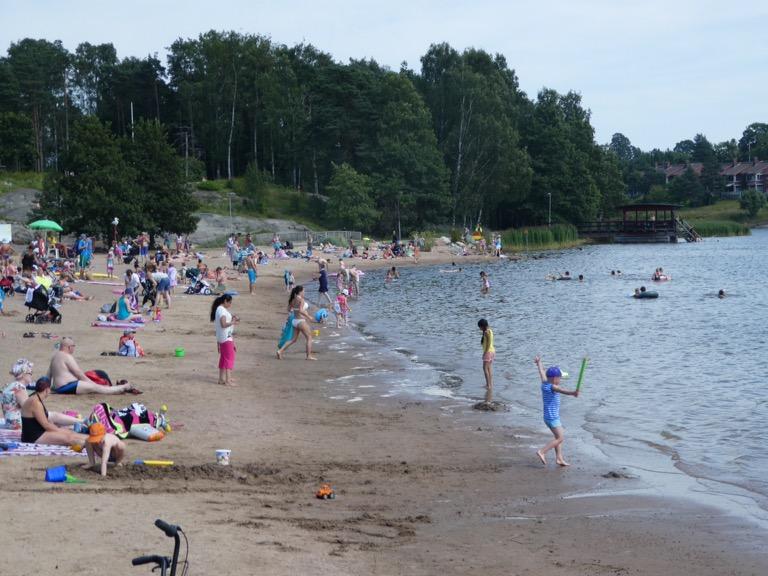 Herttoniemi Beach, Helsinki