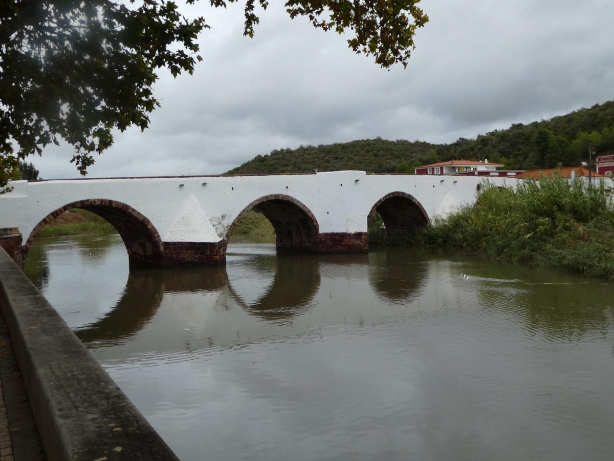 Bridge across the River Arade, Silves, Portugal