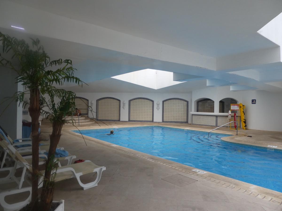 Indoor pool, Hotel Tivoli, Lagos, Algarve