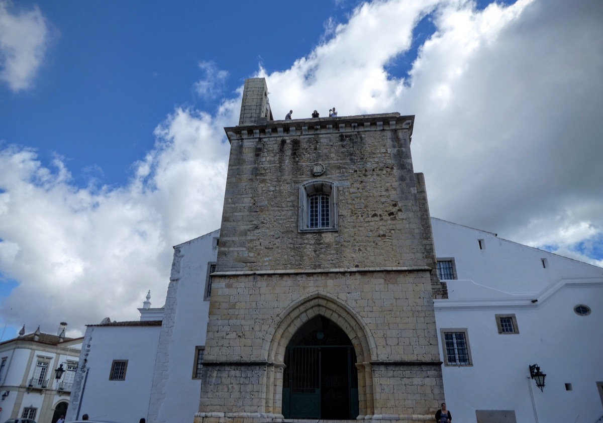Bell tower, Faro Cathedral, Algarve