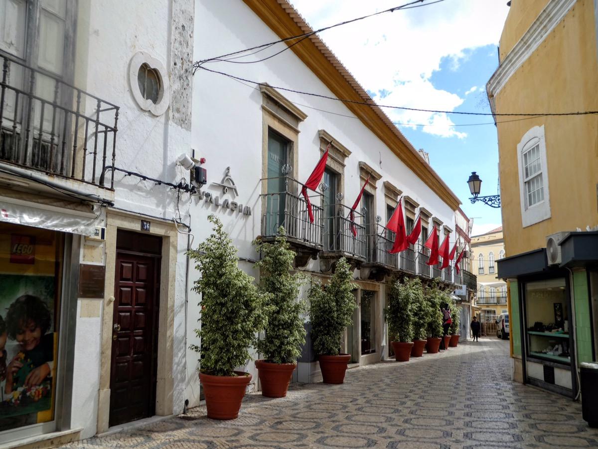 Faro town centre, Algarve