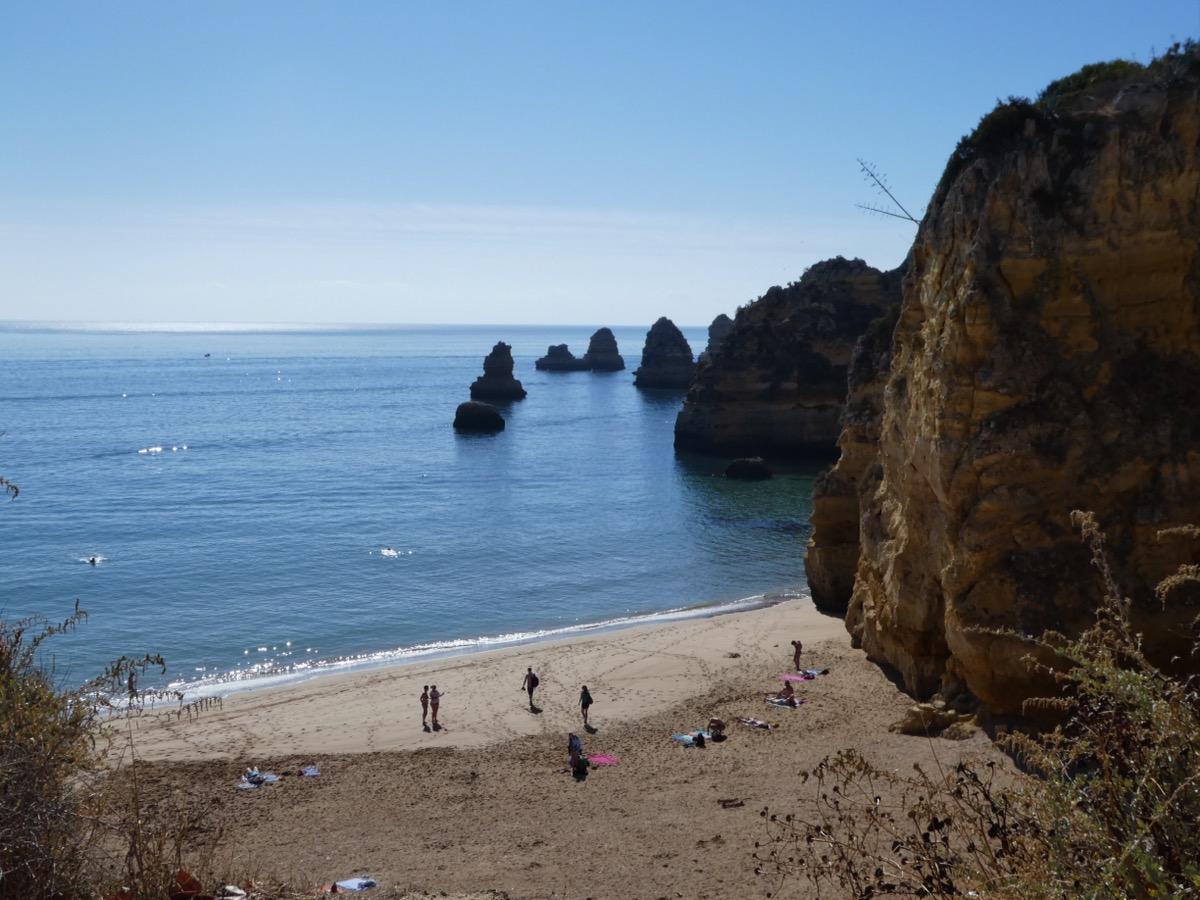 Dona Ana Beach, Lagos, Algarve