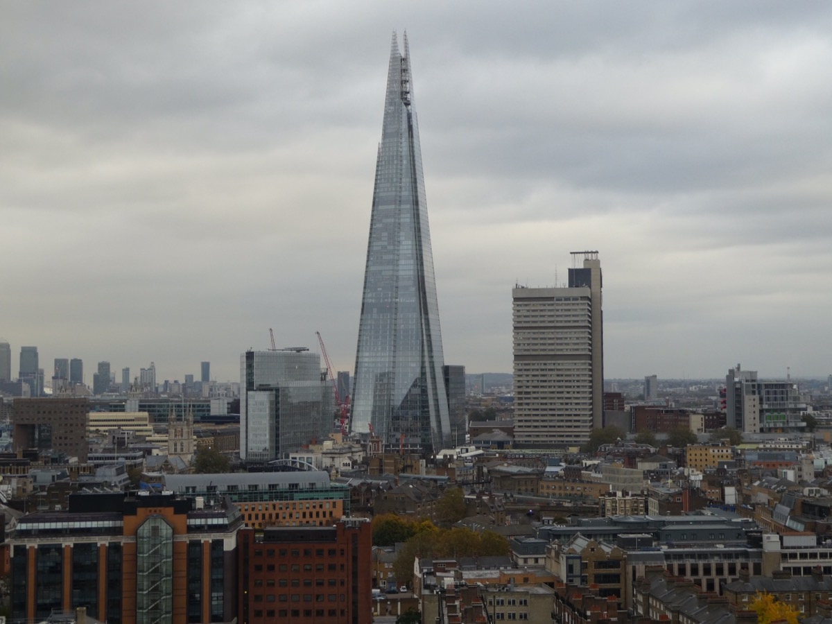 The Shard from the Tate Modern Viewing Platform