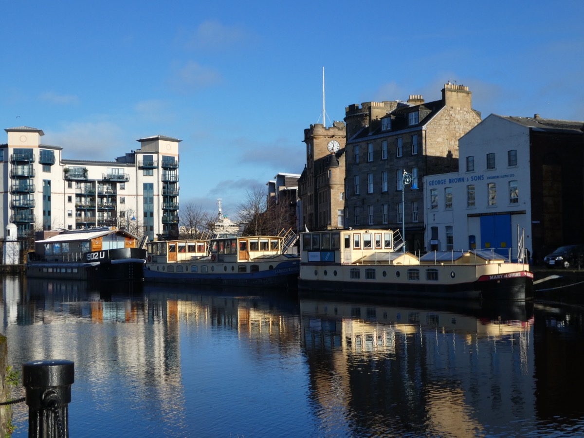 Quayside, Leith Edinburgh