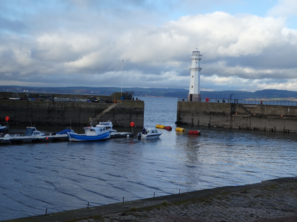 Newhaven harbour Edinburgh