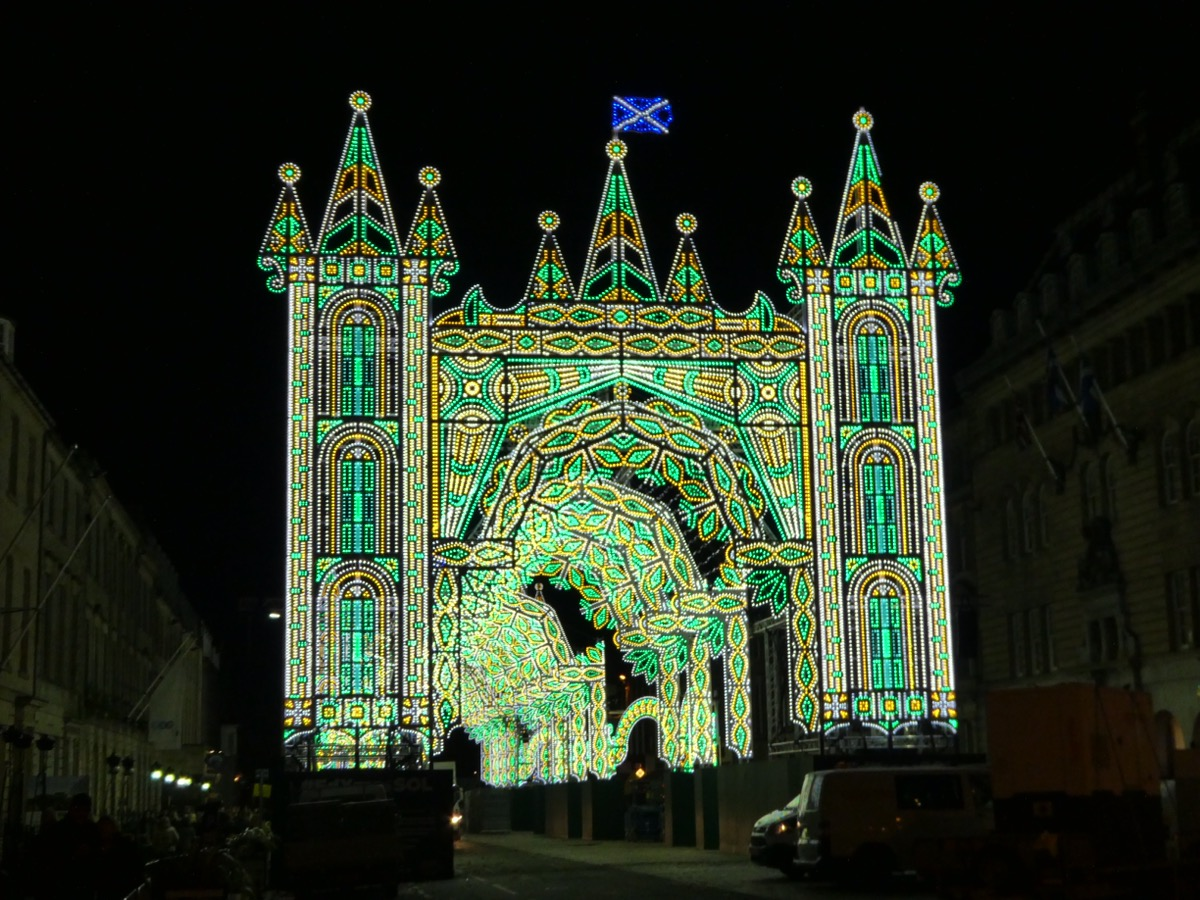Street of Light, George Street, Edinburgh